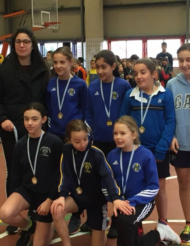 Las Alevinas participan en el torneo solidario de Jesuitinas
