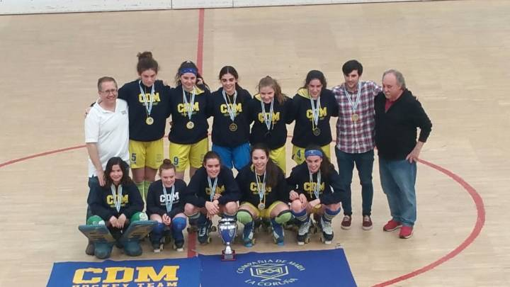 CAMPEONAS GALLEGAS EN CATEGORIA FEMENINA SUB16
