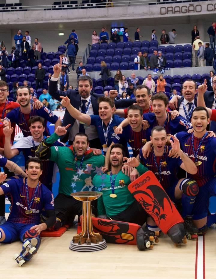 IGNACIO ALABART CAMPEÓN DE LA COPA DE EUROPA CON EL  FC BARCELONA