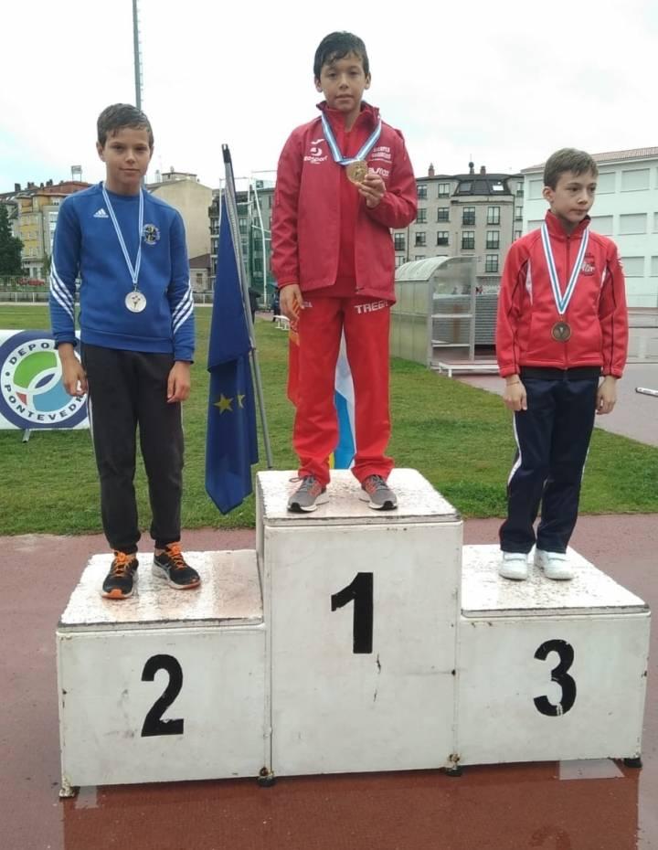 PROEZA del YELLOW TSUNAMI, Campeonato Gallego de Pista al aire libre