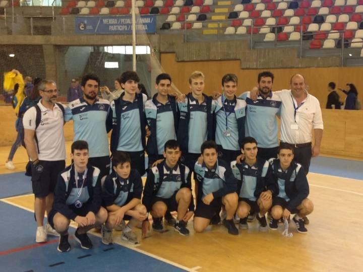 La selección Gallega masculina sub 16 consigue el quinto lugar en el Campeonato de  España de Selecciones Autonómicas disputado en A Coruña