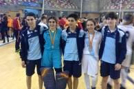 Cinco jugadores de Compañía de María presentes en el Campeonato de España de Selecciones Autonómicas con Galicia