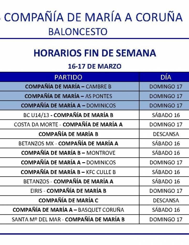 PARTIDOS 16-17 DE MARZO