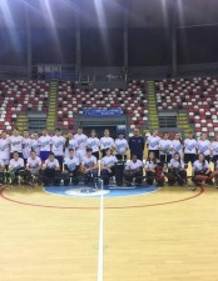 Test de control sub 17 masculino e femenino de Hóckei Patíns en Riazor