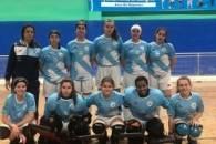 Bo papel dos combinados femininos de hóquei patíns de sub 15 e sub 17 en Asturias