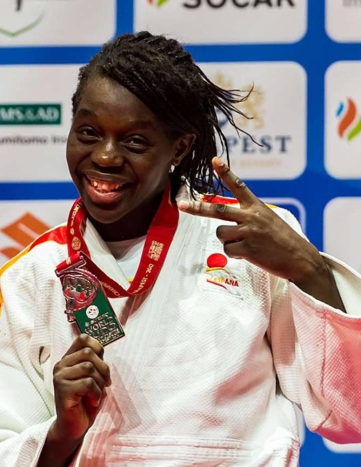 María Bernabeu medallista en el Campeonato del Mundo Budapest