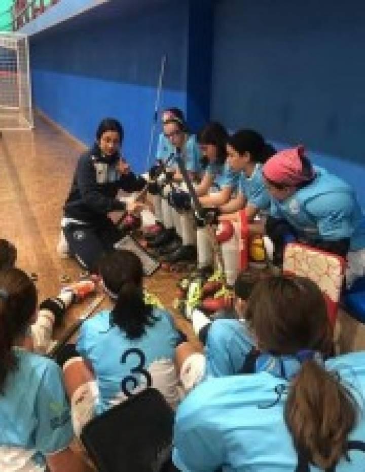 Adestramento de control de hoquei patíns sub 17 femenino este fin de semana en Monte Alto