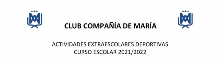 HORARIOS ACTIVIDADES DEPORTIVAS CURSO 21/22